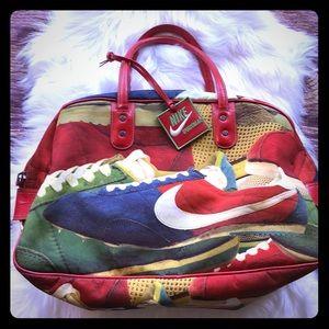 Nike Red shoe gym bag